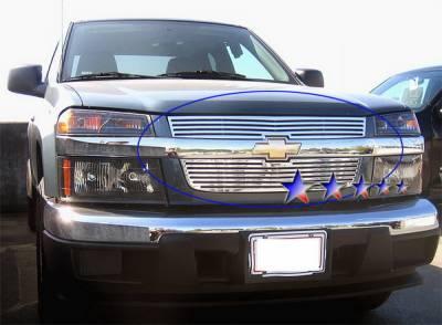 APS - Chevrolet Colorado APS CNC Grille - Upper - Aluminum - C95747A