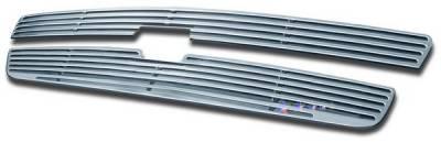 APS - Chevrolet Silverado APS CNC Grille - Upper - Aluminum - C95766A