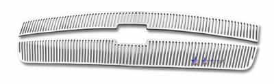 APS - Chevrolet Silverado APS CNC Grille - Upper - Aluminum - C95766V