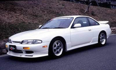 Chargespeed - Nissan 240SX Chargespeed Zenki Front Lip - CS704FL