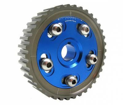 4 Car Option - Acura Integra 4 Car Option Cam Gear - Blue - CAM-D16-BL