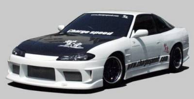 Chargespeed - Nissan 240SX Chargespeed Type-1 Wide Body Full Body Kit - CS707FKW