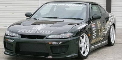 Chargespeed - Nissan 240SX Chargespeed Type-2 Wide Body Full Body Kit - CS707FKW2