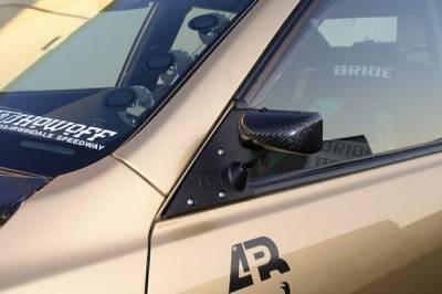 APR Performance - APR Performance Side Mirror - Carbon Fiber - Formula 3 Style - Black - CB920032B