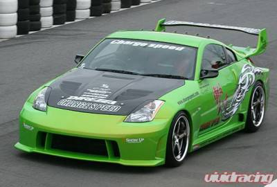 Chargespeed - Nissan 350Z Chargespeed Wide Body Full Body Kit - CS722FKW