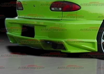 AIT Racing - Chevrolet Cavalier AIT Racing BMX Style Rear Bumper - CC95HIBMXRB
