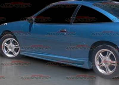 AIT Racing - Chevrolet Cavalier 2DR AIT Racing BMX Style Side Skirts - CC95HIBMXSS2