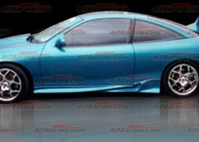 AIT Racing - Chevrolet Cavalier 2DR AIT Racing Combat Style Side Skirts - CC95HICBSSS2