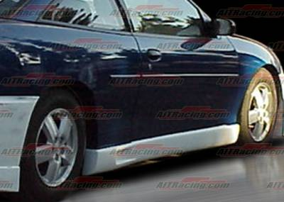 AIT Racing - Chevrolet Cavalier 2DR AIT Racing EVO Style Side Skirts - CC95HIEVOSS2