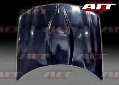 AIT Racing - Chevrolet Camaro BMagic SS Style FRP Hood - CCM98BMSSFH
