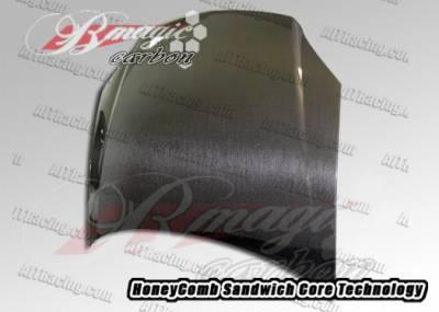 AIT Racing - Chevrolet Cobalt AIT Racing OEM Style Hood - CCO05BMCFH
