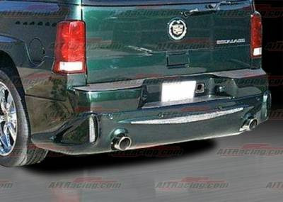 AIT Racing - Cadillac Escalade AIT Racing EXE Style Rear Bumper - CE02HIEXERB