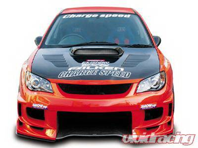Chargespeed - Subaru Impreza Chargespeed New Eye Type-2 Front Bumper with 3-D Center - CS975FBD