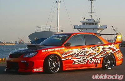 Chargespeed - Subaru Impreza Chargespeed New Eye Wide Body Front Bumper with 3-D Center - CS975FBDW