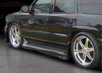 AIT Racing - Chevrolet Tahoe AIT Racing EXE Style Side Skirts - CT00HIEXESS
