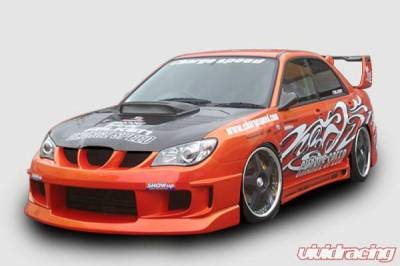 Chargespeed - Subaru Impreza Chargespeed New Eye Type-1A Full Bumper Body Kit with Type-2 Side Skirts: - CS975FK1A2