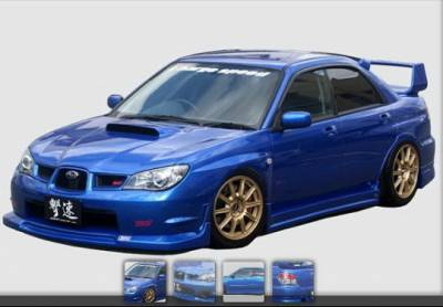 Chargespeed - Subaru WRX Chargespeed FRP S-Type Full Body Kit - CS975FLSK