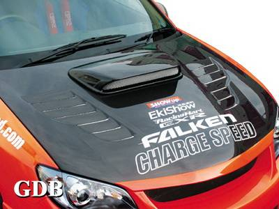 Chargespeed - Subaru WRX Chargespeed New Eye Vented Hood - CS975HCV