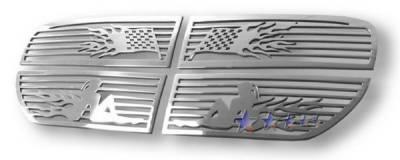 APS - Dodge Magnum APS Symbolic Grille - Upper - Aluminum - D25037B
