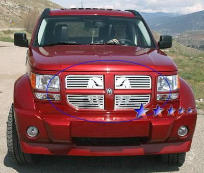 APS - Dodge Nitro APS Symbolic Grille - D26473B