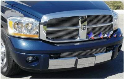 APS - Dodge Ram APS Billet Grille - Upper - Aluminum - D65719A