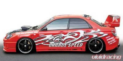 Chargespeed - Subaru Impreza Chargespeed Peanut Eye Type-1 Full Bumper Kit - CS977FK1A