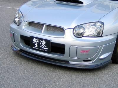 Chargespeed - Subaru Impreza Chargespeed Peanut Eye Latter Bottom Line Type-1 Full Lip Kit - 5PC - CS977FLK1C