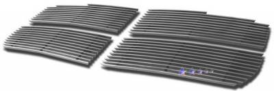 APS - Dodge Dakota APS Billet Grille - Upper - Aluminum - D66471A