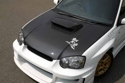 Chargespeed - Subaru WRX Chargespeed Middle Term OEM Hood - CS977HC