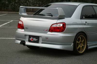Chargespeed - Subaru Impreza Chargespeed Rear Skirt - CS977RSC