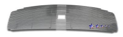 APS - Dodge Durango APS Billet Grille - with Logo Opening - Upper - Aluminum - D66534A