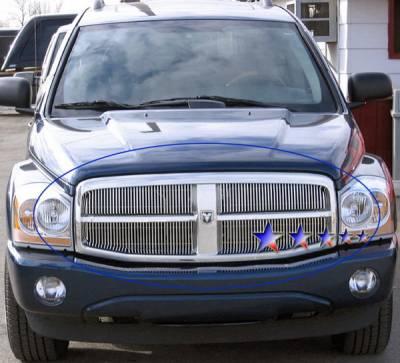 APS - Dodge Durango APS Billet Grille - Upper - Aluminum - D66536V
