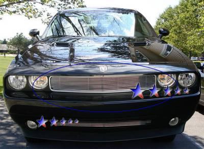 APS - Dodge Challenger APS Billet Grille - Upper - Aluminum - D66607A