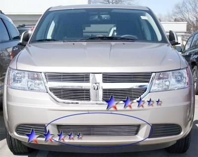APS - Dodge Journey APS Billet Grille - Bumper - Aluminum - D66610A