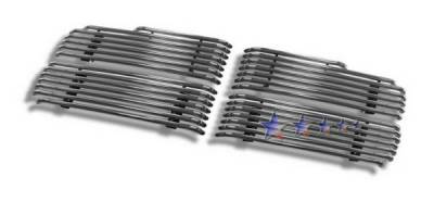 APS - Dodge Ram APS Tubular Grille - Upper - Stainless Steel - D68210S