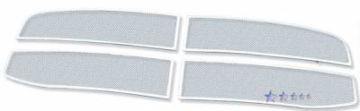 APS - Dodge Ram APS Wire Mesh Grille - Upper - Stainless Steel - D75719T