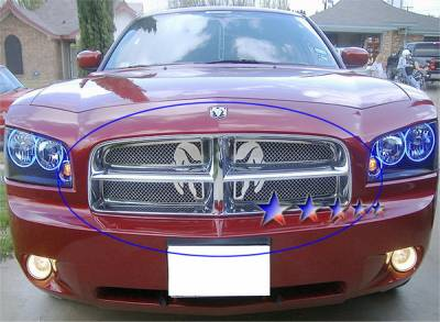 APS - Dodge Charger APS Symbolic Grille - D76438B