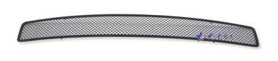 APS - Dodge Challenger APS Black Wire Mesh Grille - Upper - Stainless Steel - D76607H