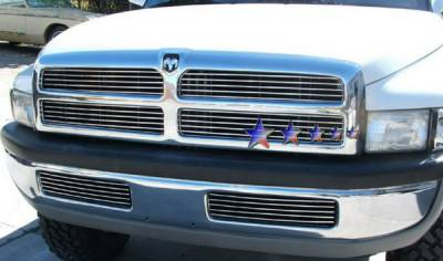 APS - Dodge Ram APS Billet Grille - Bumper - Stainless Steel - D85035S