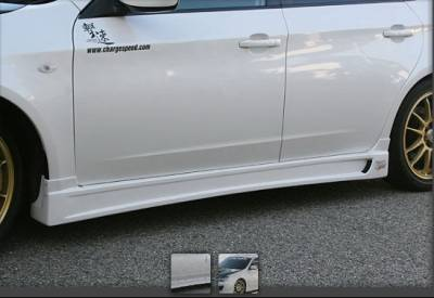 Chargespeed - Subaru Impreza Chargespeed Type-1 Side Skirts - CS979SSN