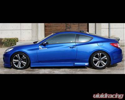 Chargespeed - Hyundai Genesis Chargespeed Side Skirts - Pair - CS996SS