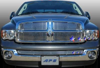 AutoDirectSave - 2002 2005 Dodge RAM Machined Billet Grille D95720A