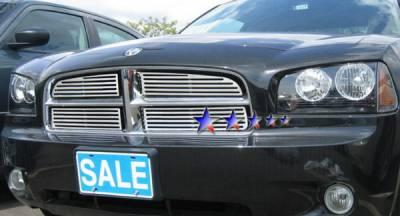 APS - Dodge Charger APS CNC Grille - Upper - Aluminum - D96438A