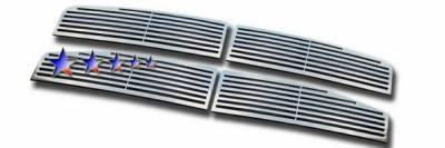 APS - Dodge Durango APS CNC Grille - Upper - Aluminum - D96444A