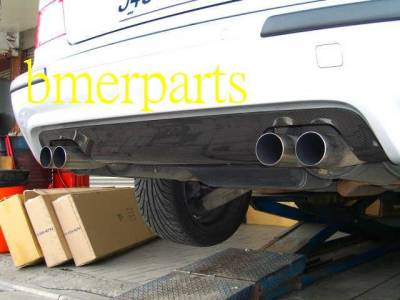 Custom - BMW E39 M5,M-TECH 540I BUMPER CARBON FIBER DIFFUSOR