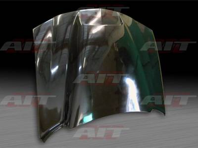AIT Racing - Dodge Charger BMagic Striker Style FRP Hood - DC06BMRKSFH