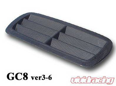 Chargespeed - Subaru Impreza Chargespeed Outlet Style Hood Duct