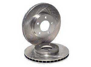 Royalty Rotors - Pontiac Fiero Royalty Rotors OEM Plain Brake Rotors - Rear