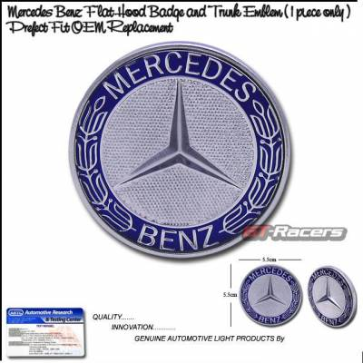 Custom - Mercedes Benz Hood Trunk Emblem