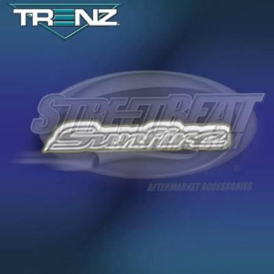 Custom - Trenz Pontiac Sunfie Polished Emblem